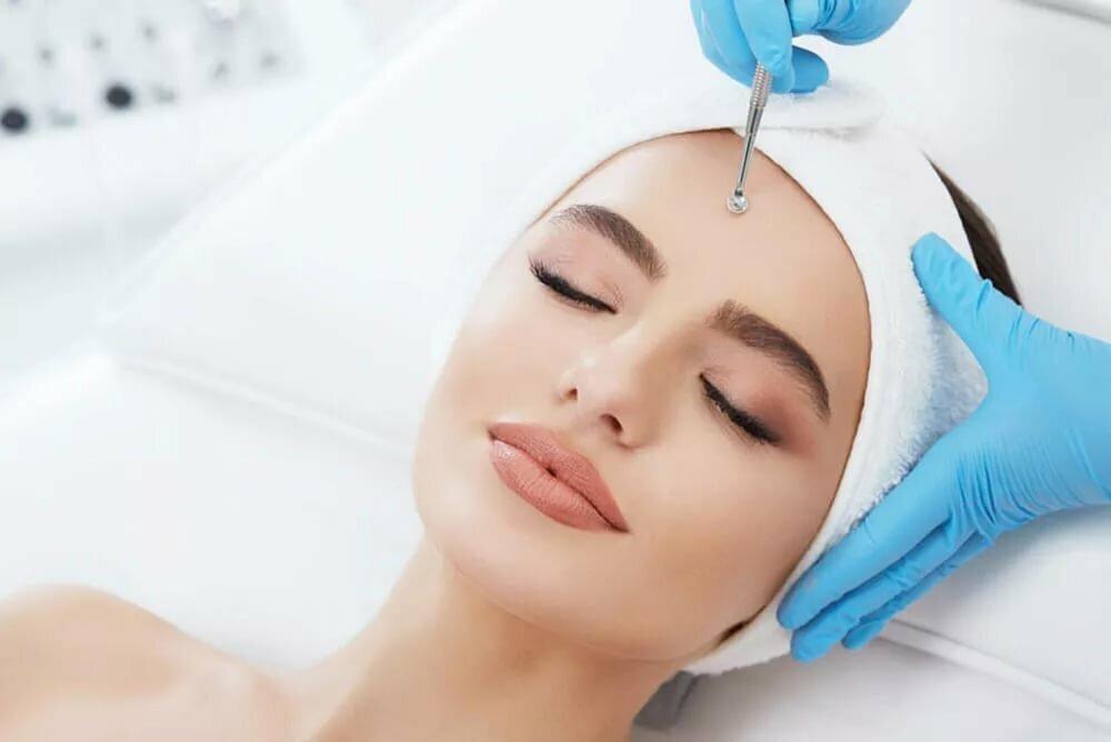 Лицо после механической чистки, противопоказания к ультразвоковой чисте комбинированной кожи лица